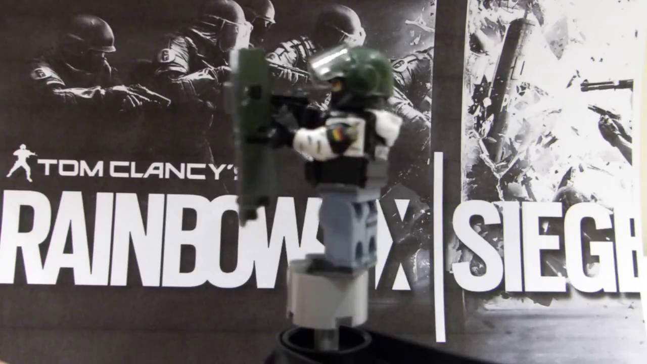 Rainbow Six Siege White Mask: Lego Blitz And White Mask Custom R6 Siege Minifigure