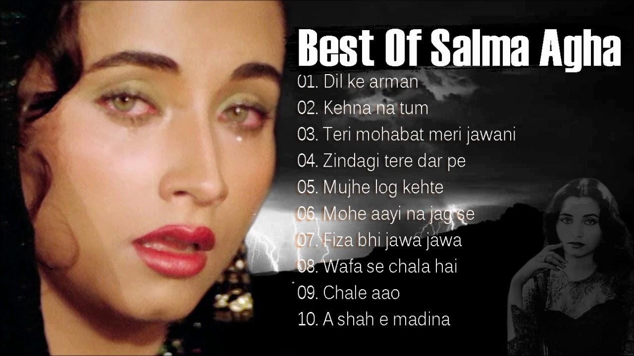 Download Best Of Salma Agha | सलमा आगा के सदाबहार गीत | Mohammad Aziz, Salma Agha
