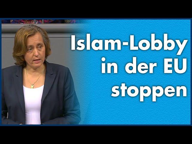 Beatrix von Storch (AfD) - Islam-Lobby in der EU stoppen