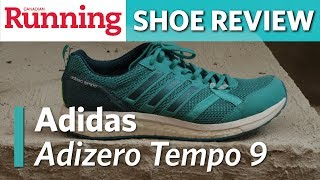 SHOE REVIEW: Adidas Adizero Tempo 9