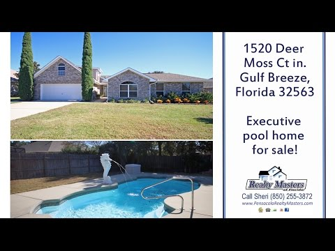 1520 Deer Moss Court, Gulf Breeze, FL 32563 Home for Sale - Open House
