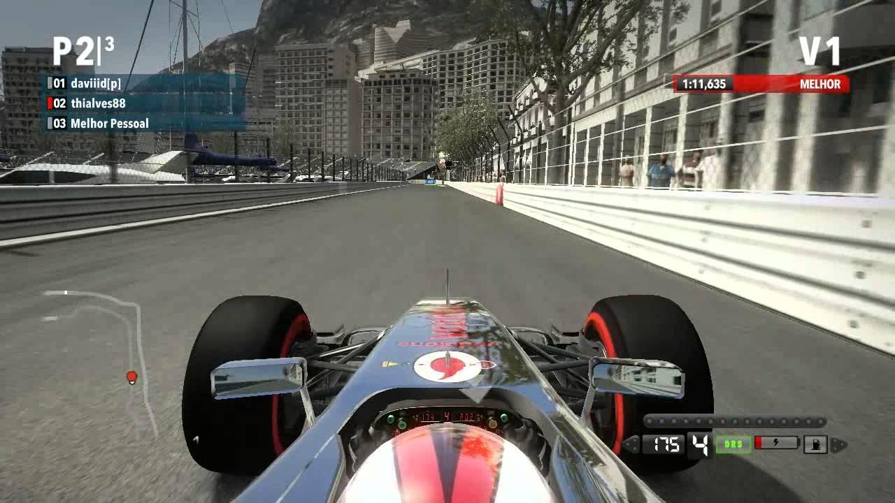 F1 2012 TT + setup Gp Monaco (Monte Carlo) xbox 360 ...