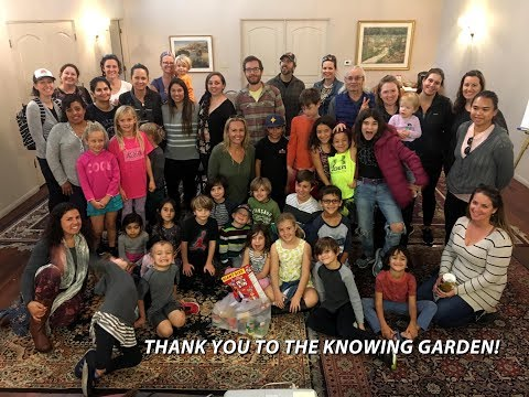 The Knowing Garden's Field Trip about Giving Back