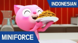 [10.15 MB] [Indonesian dub.] MiniForce S1 EP 08 : Lucy Sang Koki
