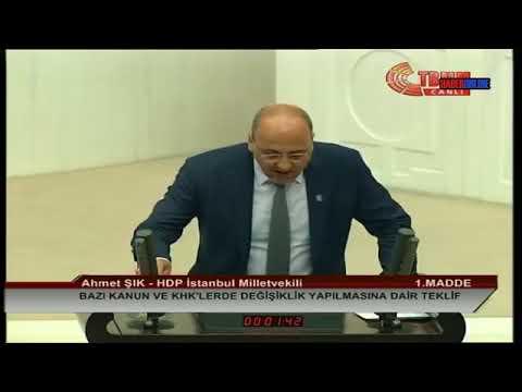 Ahmet Şık Meclis Konuşması Sırasında Gerginlik | 23 Temmuz 2018