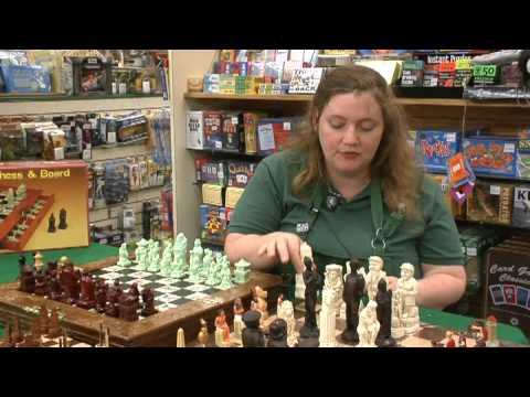 Board Games : About Unique Chess Sets
