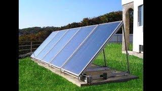 Сравнил «стекла» плоских солнечных коллекторов: поликарбонат, стекло, пленка, …