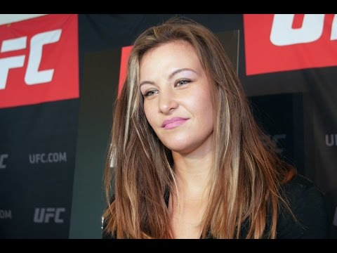 Miesha Tate talks transition, not retirement, with media in Melbourne