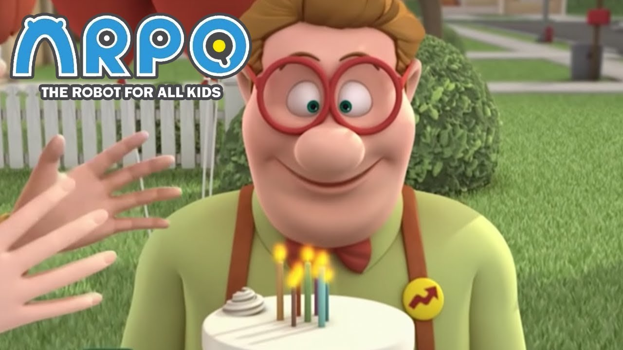 ARPO The Robot For All Kids - Birthday Surprise | Compilation | Cartoon for Kids