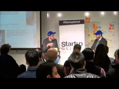 Startup Grind NYC hosts Franck Nouyrigat - October 27, 2015