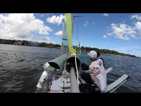 20th Feb 2021 Concord Ryde VJ sailing start and first work