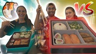 Giant Bento Box Challenge 🍱 VS HellthyJunkFood