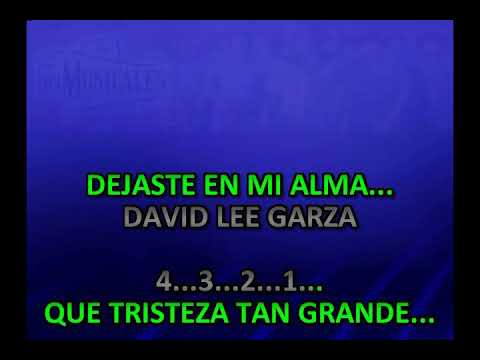 """""""Que Tristeza"""" in the style of David Lee Garza y Los Musicales"""
