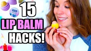 DAS kann DEIN Lippenbalsam auch! 15 GENIALE LIP BALM HACKS ♡ BarbieLovesLipsticks thumbnail