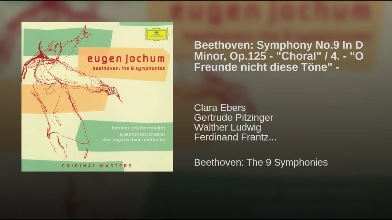 Beethoven - Symphony No  9 - Double Bass Excerpts