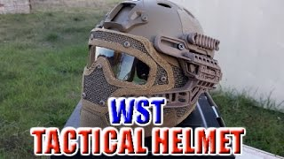 WST TACTICAL PROTECTION HELMET | CASCO PJ CON PROTECCIÓN TOTAL, AIRSOFT