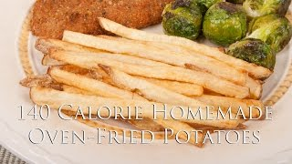 140 Calorie Oven Fried Potatoes (med Diet Episode 112) Dituro Productions