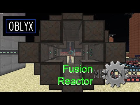 Mekanism Fusion Reactor
