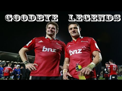 "Dan CARTER & Richie McCAW[ Crusaders Tribute ] "" GOODBYE LEGENDS"" Super rugby 2015 Highlights"