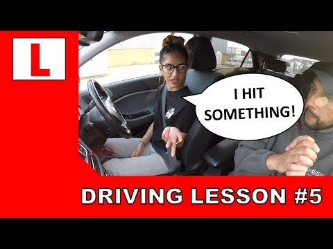 She Was Driving Well BUT THEN THIS HAPPENED! Driving Lesson #5