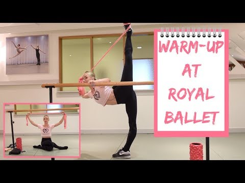 WARM-UP WITH ME | ROYAL BALLET EDITION