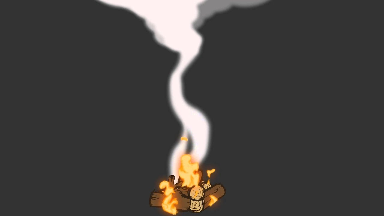 Camp Fire Animation Test
