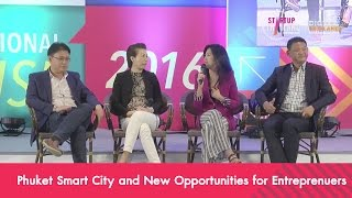 Phuket Smart City and New Opportunities for Entreprenuers