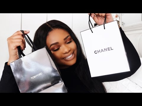 HIGH END BEAUTY HAUL FT. TARTE, CHANEL, ABH, LANCÔME, TOM FORD & MORE...