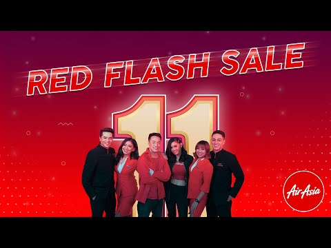 AirAsia #RedFlashSale