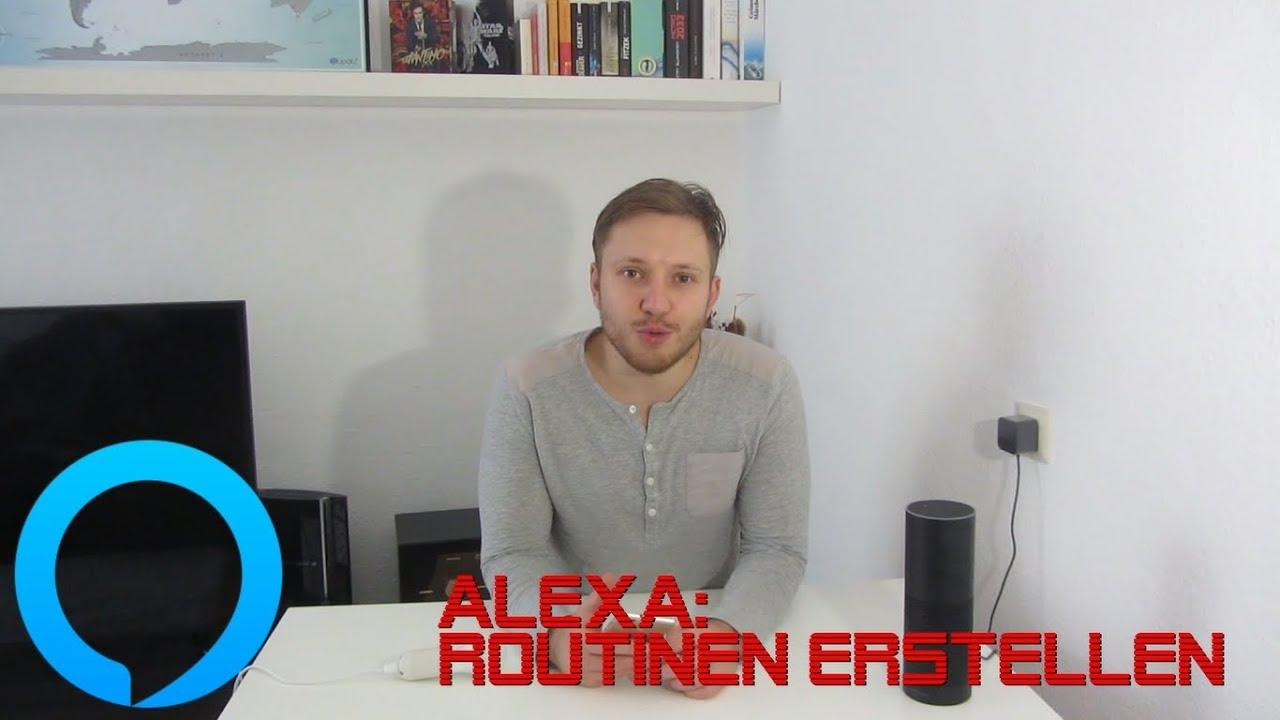 Alexa Routinen