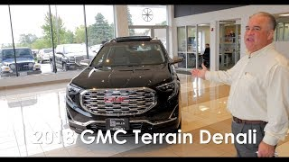2018 GMC Terrain Denali New Vehicle Walk Around