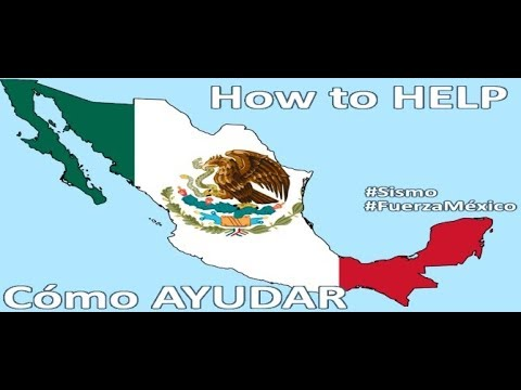 How to help Mexico from abroad - Earthquake relief