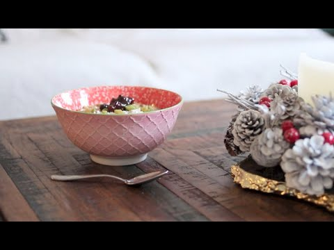 Harriet Emily: Mince Pie Oatmeal Recipe in collaboration with East End Foods