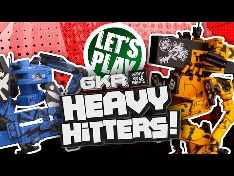 Let's Play: Giant Killer Robots - Heavy Hitters