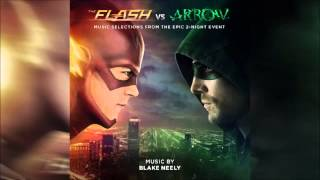 Flash VS Arrow 07 Main Theme Soundtrack OST Official By Blake Neely