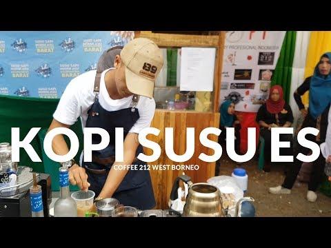 CARA BIKIN KOPI SUSU ES | PONTIANAK STREET FOOD #87