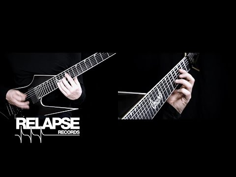 "OBSCURA - ""Anticosmic Overload"" (Official Guitar Playthrough)"