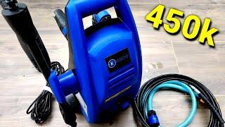 REVIEW Máy rửa xe cao áp giá rẻ KACHI MK192   Máy rửa xe gia đình mini