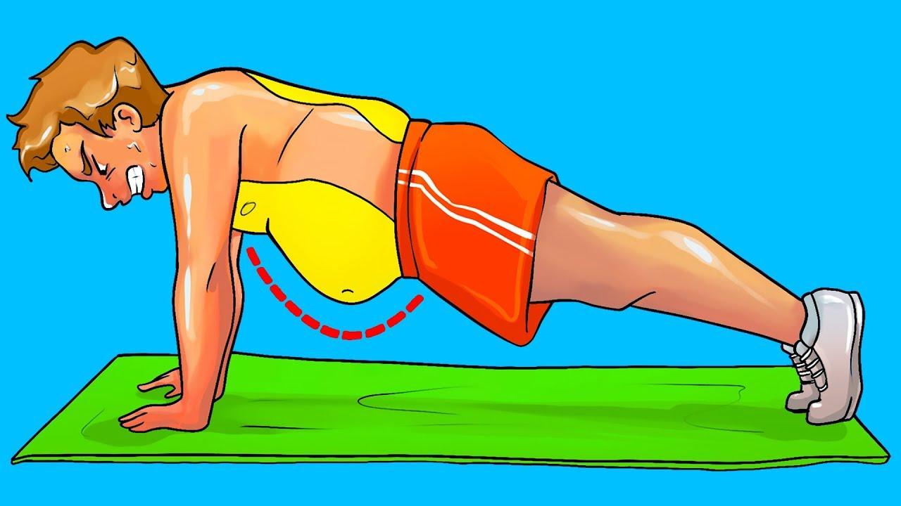 Como quemar grasa dela barriga con ejercicios
