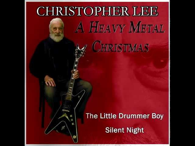 christopher lee a heavy metal christmas - Christopher Lee Metal Christmas