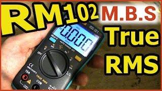 RM102 DIGITAL MULTIMETER TRUE RMS Мультиметр тестер c Алиэкспресс