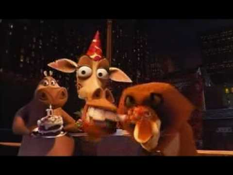 Cumpleaños Feliz Madagascar Youtube