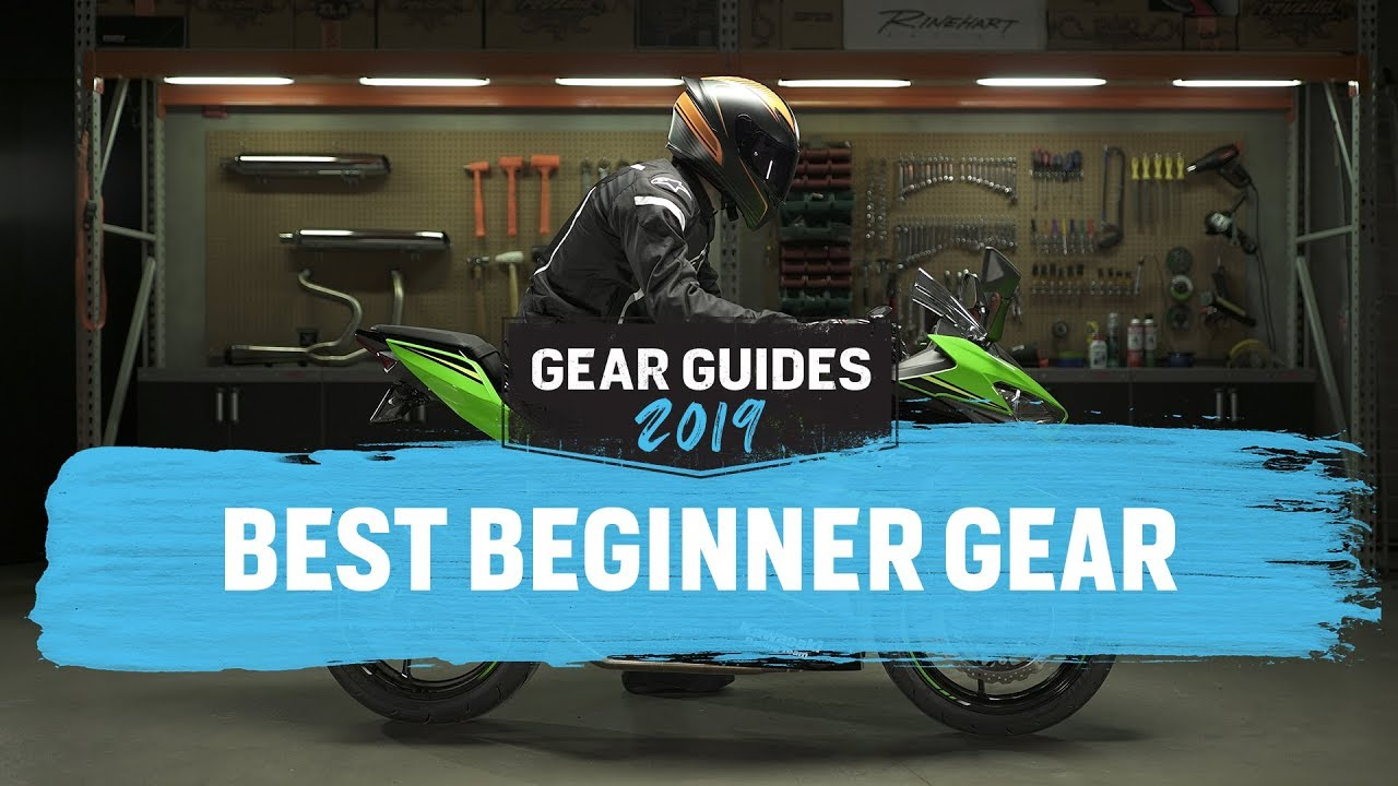 077ae0bf0ac Best Motorcycle Gear For Beginners 2019 - YouTube