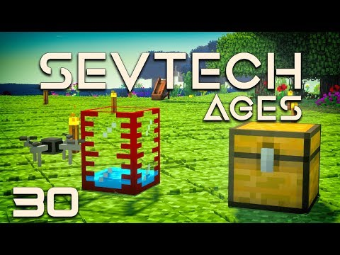SevTech: Ages EP30 PneumaticCraft Amadron Tablet + Simple Storage Network
