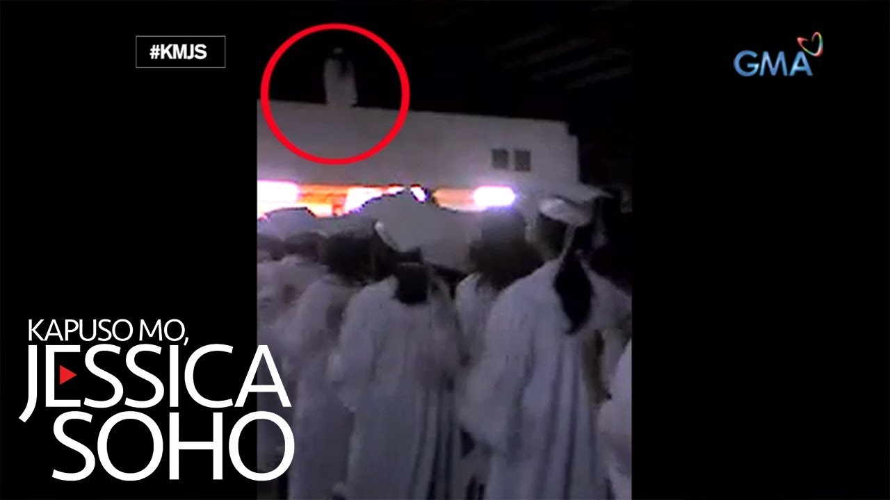 Kapuso Mo, Jessica Soho: 'White lady,' na-videohan sa graduation?