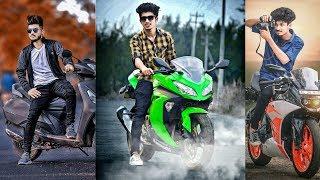 PicsArt Bike Rider Photo Editing Like Photoshop | New PicsArt Editing Tutorial 2018 | Chetan Edits