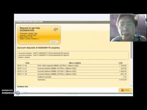 MMM pays 4410 USD mmm global registration