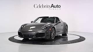 2017 PORSCHE 911 TARGA 4S $175K MSRP