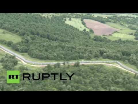 Bulgaria: Officials inspect newly constructed fence on border with Turkey