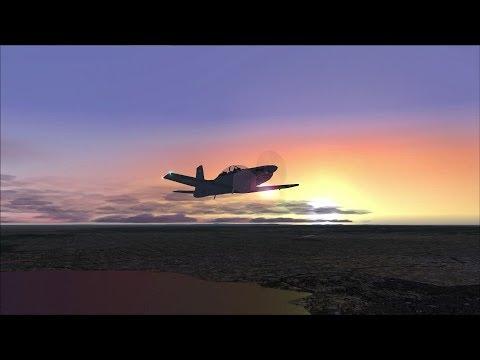 PC-9/A Dusk city orbital at Melburne, Australia